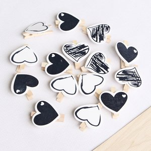 50 PCS Natural Wooden Clothespins Mini Photo Paper Peg Pin Graft Clips 4.5 CM Interior Decorating for Pictures Craft Photo Hanging Clip JZ06