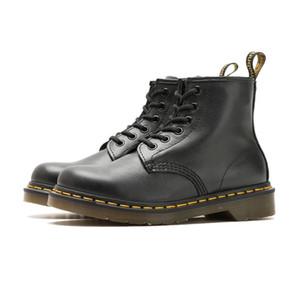 Sıcak tasarımcı 2019 martin dr martins kadın martin boot doc aston erkek ayakkabı bot erkekler sneakers chaussures çalışma taban Deri kış Motor6898 #