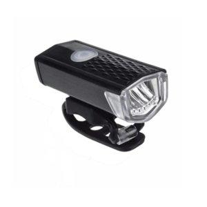 Ultra Bright USB Rechargeable Bike Light Set, 3 Light Modes, Easy to Install for Men Women Kids Road Mountain