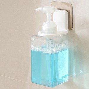 Gel doccia bottiglia Hook Rack autoadesive Bagno Hand Sanitizer Holder impiccagione per uso domestico Bagno Decorazione EEA1642