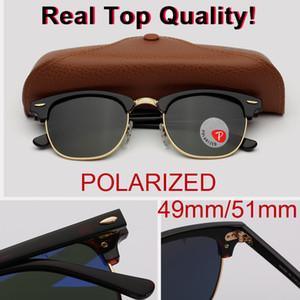 qualidade superior da marca óculos polarizados oclos prancha acetato de Armações de vidro óculos de sol do clube Retros do vintage com embalagens originais