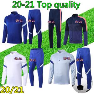 20 21 veste de survêtement de football Chelsea Hommes 2020 2021 polo CFC WERNER KANTE ABRAHAM survetement de foot jogging soccer tracksuit jacket training polo shirt