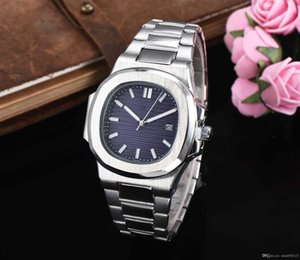 luxury high quality automatic watch blue dial stainless steel nautilus Classic men's and women's sports quartz watches