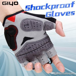 GIYO Cycling Gloves Half Finger Bicycle Gloves Shockproof Breathable MTB Mountain Bike Gloves Men Sports Racing Riding Glove S01