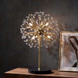 Nordic Creative Dandelion Table Lamp Home Living Room Dining Room Decoration Bedroom Bedside Desk Light TA241