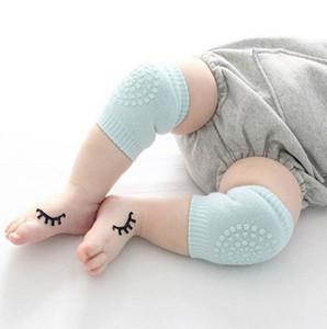 Bebek dizlik çocuklar dirsek yastık pamuk bebek çorap bebekler bebek ayağı sıcak diz destek koruyucusu bebek 8 Renkleri YW3870-L kneecap gezinmeyi,