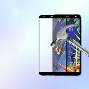 Protecteur d'écran en verre trempé à couverture totale pour MOTO G7 play G7 power LG K40 G8 anti-déflagrant couleur noire Oppbag