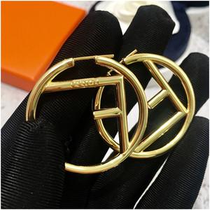 Arc Ohrringe einfache geometrische Retro wilde Cool Diamonds Herrliche übertriebene große runde Solid Color-Ohrringe für Frauen mit Stempel