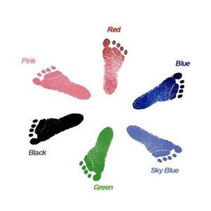 Baby Spezial Handprint Footprint Ink Pad Baby Items Souvenir Hand Footprint Makers Learning-Ausbildungs-Spielzeug Hand Footprint