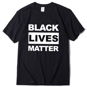 SxXwS Black Shirts Matter I Can't Breathe Say Their Names Men and Women Print Cotton T-shirt Summer Style Fast Lives Fresh Design Cool Free
