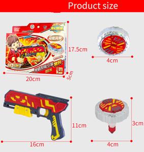 Batalla mágica explosión del girocompás del arma Beyblade Burst set Juguetes Bey Blade fusión del metal juguetes con mini Launcher Peonza Juguetes para Niños Spinning