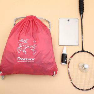 Водонепроницаемый Drawstring Рюкзак мешок авоську Gym Tote школа Спортивные пакеты для обуви Stroge сумка
