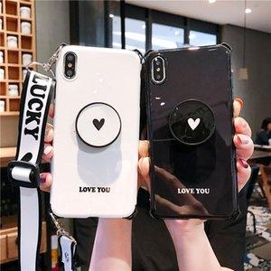 Çift Love İpi Parantez Iphone 11promax Cep Telefonu Kılıfları Yaratıcı Koruyucu Kapak Suya Dayanıklı Kickstand Kart Cep Kir dayanıklı