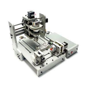 fresadora CNC bricolaje Mini máquina de grabado del CNC mini DIY 200 * 300 mm área de trabajo con exento de 300W DC husillo a RU