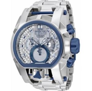 Quartz Relógios Men aço inoxidável Invicta Reserve Parafuso Série Zeus Modelo -20112B de