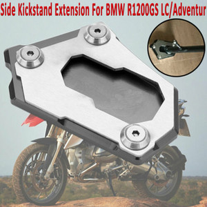 ALUMINIUM KICK STAND SIDE EXTENSION FIT-FUSS-AUFLAGE FÜR BMW R1200GS LC / Adventur UK
