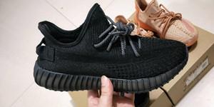 2019 ثابت الثلاثي السوداء العاكسة توهج الأخضر V2 في الأحذية الظلام الرجال تشغيل النساء تعمل حذاء مصمم مع حر shinpping
