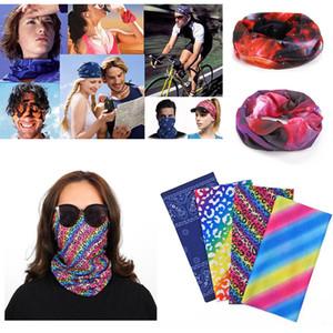 Hot Sale Scarf Outdoor Anti-UV Multifunctional Cycling Seamless Bandanas Magic Scarfs Women Men Head Scarf Novelty Bandanas for Sports Music