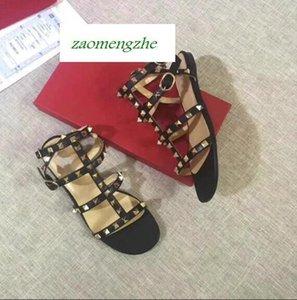 sandalias de uñas nuevas Corea del sauce todo alrededor de los zapatos con picos puntiagudos de Baotou sandalias de la muchacha
