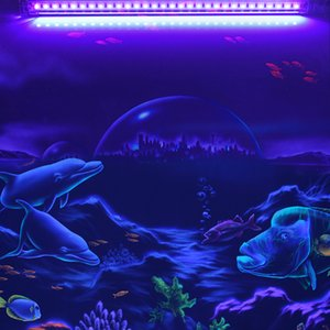 9W LED UV 라이트 USB LED 소독 튜브 DJ 디스코 램프 파티 바 무대 백라이트 형광 검출