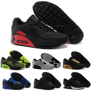Nike Air Max 90 2019 Высокое Качество Воздушной Подушке 90 Повседневная Обувь Для Женщин Мужчин Спортивная Обувь Кроссовки Кроссовки Eur36-45 c13