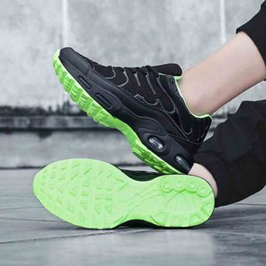 Professional Air Cushion Mesh Breathable Running Shoes for Men 2020 Spring Autumn Walking Shoes Men Sneakers Size 39-47