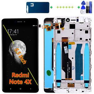 شاشة LCD لجهاز Xiaomi Redmi Note 4X / Note 4 Global (CPU: Snapdragon 625) إطار محول الأرقام بشاشة تعمل باللمس مع أدوات مجانية