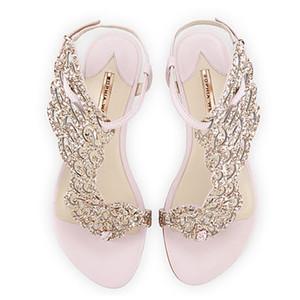 Goddess2019 Webster Sophia Yaz Su Sondaj Siyah Koyun Düz kadın Ayakkabı Ile Geri Kaşmir Düzleştirme Sandalet