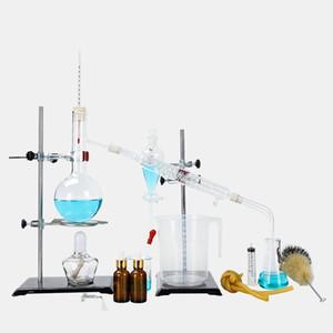 Wirtschaftlich und bequem 500ml Laborglas Set Extraktionsgerät chemisches Experiment Glassatz