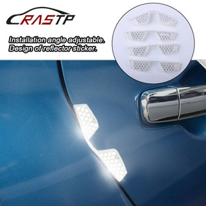RASTP-Universal Clear Type for Anti Scratch Reflective Strip Car Shock Absorption Door Edge Protector Guard Bendable RS-LKT026