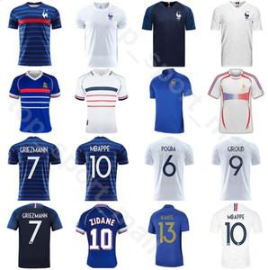 2020 2021 1998 프랑스 레트로 축구 13 KANTE 저지 18 개 FEKIR 2 PAVARD 11 COMAN 17 시소코 (20) BEN YEDDER 축구 셔츠 키트
