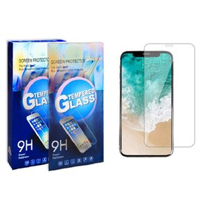 Screen Protector For Samsung A10E A20 A30 A50 A70 Tempered Glass For iPhone 11 Pro Max LG Huawei Mate 30 With Retail Package