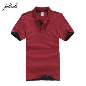 PDTXCLS Мужские рубашки мужчины Desiger s мужчины хлопок рубашка с коротким рукавом одежда гольф теннис s большой размер XXL твердый