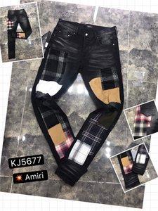 2020New Ücretsiz Kargo Gerçek Yüksek kaliteli yeni Erkek Robin Rock Revival Jeans Kristal Studs Denim Pantolon Tasarımcılar Pantolon Erkek büyüklüğü 28-40 H5