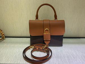 Hot selling women's bags free shipping LOCKY Retro handbag BB lady cross body bag female shoulder bags Genuine Leather purse with box B037