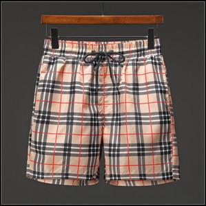 Pantaloncini da spiaggia, strisce scozzesi, top designer da uomo, pantaloni da spiaggia, costumi da bagno estivi da surf sulla spiaggia Polo, marchi europei e americani