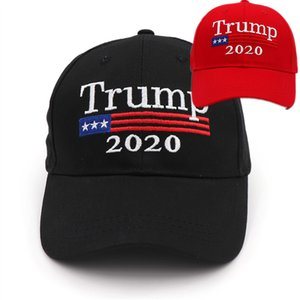 Embroideried Trump 2020 Hut Baseball Ball Caps Damen Unisex Männer Hysteresen Tennis Golf Sports Caps A5704 Adjustable casquette Pferdeschwanz Kappen