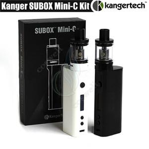 Top Kanger Subox Mini C Starter Kit KangerTech KBOX 50W Minic vapeur Mod SSOCC Coil réservoir 3ml Protank 5 cigarettes Atomiseur e vape kits DHL