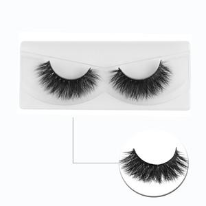 1Pair Makeup 3D False Eyelashes Handmade Messy Cross Soft Faux Eye Lashes Extension Beauty Make Up Tools