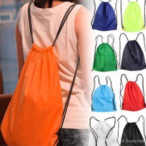 Premium School Drawstring Duffle Bag Sport Gym Swim Dance Zapato Mochila envío gratis 2018122212