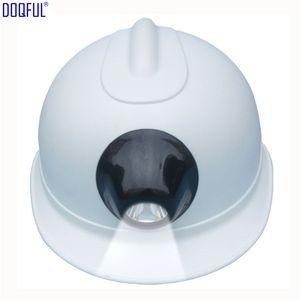 Mineiros rígido Mina ABS Bater Capacete recarregável Li bateria Lâmpada Farol Segurança do Trabalho Hat Contruction Workplace tampa protetora cabeça