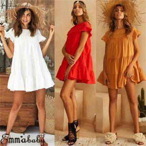 2020 New Women Holiday Beach Summer Bikini Cover Up Boho Casual Party Sun Mini Dress Sundress