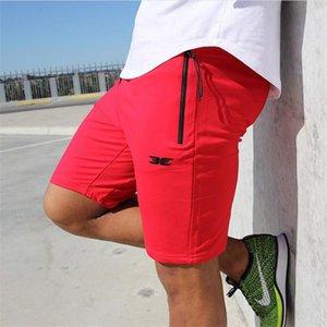 Haute Qualité Coton Hommes Fitness Shorts D'été 2018 Plage Nouvelle Mode La Poche Fermeture Éclair Garnir Pantalon Court Vente Chaude M-xxl Y190508