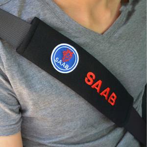 Copertura cintura di sicurezza auto Accessori per automobili per Saab 9-3 9-5 9000 del rilievo di spalla della cintura di copertura Accessori Car Styling 2PCS / LOT
