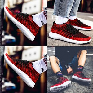 Sock trainers fashion women men running shoes Black Red Grey Primeknit mens trainers sports sneakers Homemade  Made in China size 39-44