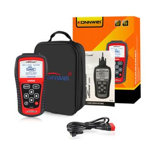KONNWEI MS509 KW808 OBD2 OBDII EOBD Scanner Car Code Reader Tester de diagnóstico com caixa de varejo