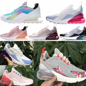 Nike Air Max 270 Airmax 270 air 270 Cor das mulheres tênis de corrida new style rosa azul tênis confortável durável respirável sport shoes tamanho eur 36-39