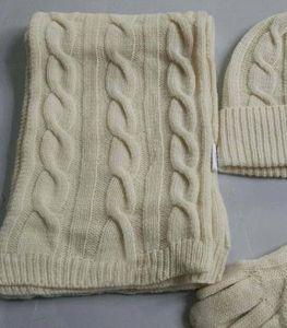 2019 Yeni Tasarımcı Şapka Atkılar Eldiven Setleri Moda Eşarp Eldiven Beanie Erkekler Için Soğuk Hava Aksesuarları Kaşmir Hediye Setleri kadın