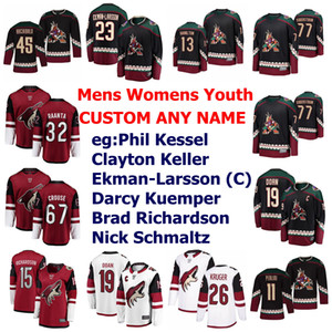 Arizona Coyotes Jerseys Womens Jason Demers Jersey Alex Goligoski Niklas Hjalmarsson Aaron Ness Oesterle Hockey Jerseys Custom Stitched