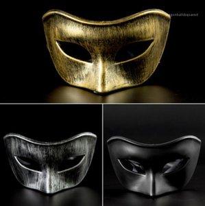 Mode-Art-beiläufige Apprel Halloween Cosplay venezianische Maske Kreative Maskerade-Partei Plastik Homme Kleidung Damen Kleider